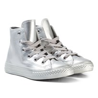 Converse Silver Kids Chuck Taylor All Star - Hi Серебряный