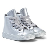 Converse Silver Infants Chuck Taylor All Star - Hi Silver