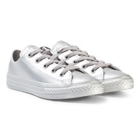 Converse Silver Kids Chuck Taylor All Star - OX Серебряный