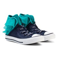 Converse Navy and Blue Kids Chuck Taylor All Star Block Party Navy/Blue