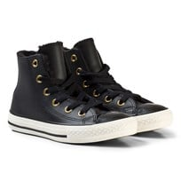 Converse Black and White Kids Chuck Taylor All Star - Hi Black/White