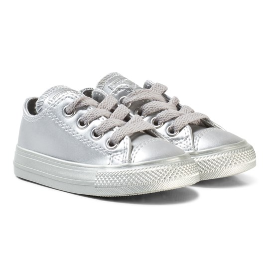 Converse Silver Infants Chuck Taylor All Star - OX Silver