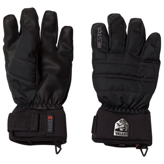 Hestra CZone Primaloft Jr. Gloves Black Black