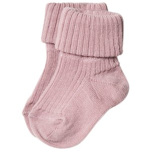 Image of MP Ankle Wool Rib Socks Wood Rose 00 (17/18) (840734)