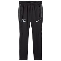 NIKE Black CR7 Dry Squad Track Pants BLACK/BLACK/BLUE TINT/LT ARMORY BLUE