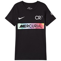 NIKE Black Ronaldo Mercurial Tee Black