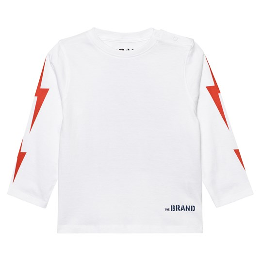 The BRAND Boom Long SL Tee White White