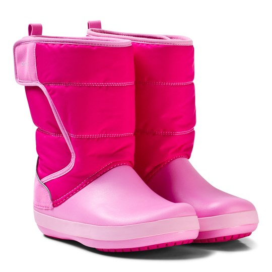 Crocs Lodgepoint Snow Boots Candy Pink Candy Pink/Party Pink
