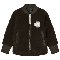 Didriksons Orsa Kid's Pile Jacket Stone Green Stone gree