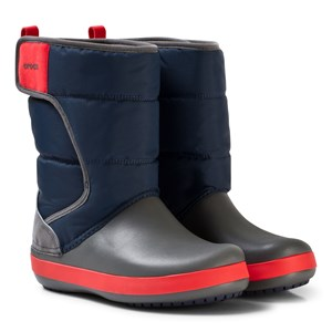 Image of Crocs Lodgepoint Snow Boots Navy/Slate C8 (EU 24/25) (3139024257)