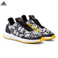 adidas Performance Black Star Wars Kids Trainers CORE BLACK/FTWR WHITE/EQT YELLOW S16