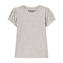 The BRAND Girly Tee Grey Melange Black
