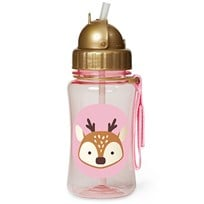 Skip Hop Zoo Straw Bottle Deer