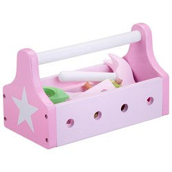 Kids Concept Toy Tool Kit Star Pink