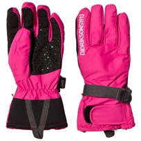 Didriksons Five Youth Gloves Fuchsia Pink