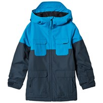 Volcom Blue Blocked Insulated Ski Jacket VNY