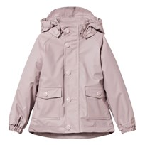 Mini A Ture Julien Lined Rain Jacket Violet Ice Violet Ice