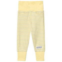 Geggamoja Baby Trouser Yellow/Light Grey