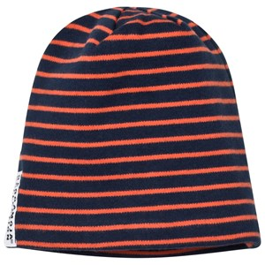 Geggamoja Topline Hat Marine/Orange Mini (0-2 mnd)