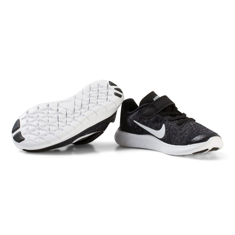 NIKE Black Nike Free Run 5.0 Trainers Babyshop.no