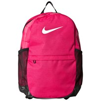 NIKE Pink Nike Brasilia Backpack RUSH PINK/BLACK/WHITE