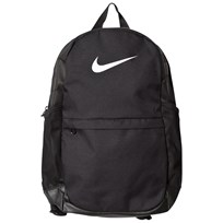 NIKE Black Nike Brasilia Backpack BLACK/BLACK/WHITE