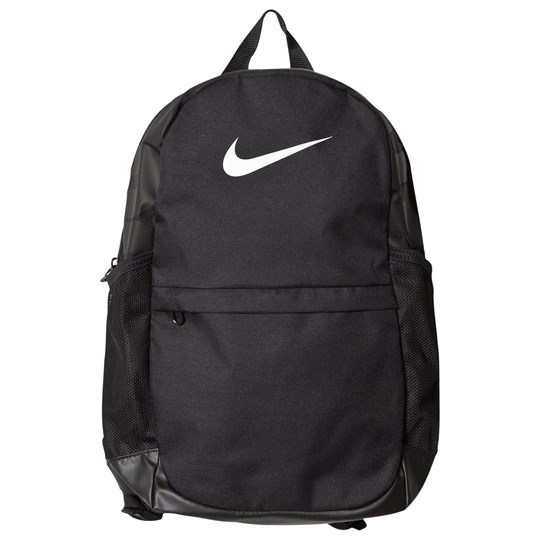 NIKE Black Brasilia Backpack BLACK/BLACK/WHITE