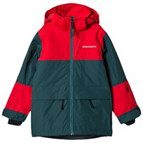 Didriksons Theo Jacket Dark Aqua Green Navy