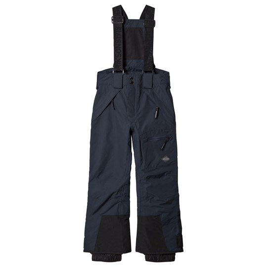 Didriksons Elton Thermo Pants Navy Marinblå