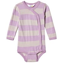 Joha Stripe Wrap Body Pink Pink