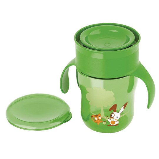 Philips Avent My First Big Kid Cup 260 ml (9 oz) 9m+ Green Beige