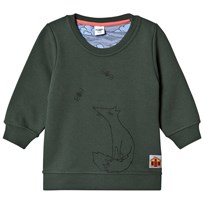 Modéerska Huset Sweater Fox Grön зеленый