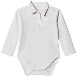 Petit by Sofie Schnoor Baby Body with Collar White
