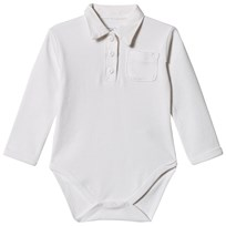 Petit by Sofie Schnoor Baby Body with Collar White White