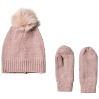 Petit by Sofie Schnoor Hat And Gloves Rose Pink