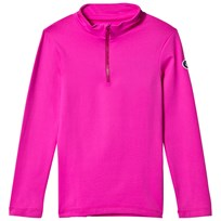 Fusalp Pink Half Zip Gemini Junior Ski Fleece 215 Surfinia