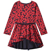Jessie & James Red Poppies Layered Dress DAISY´S