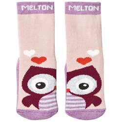 Melton Owl Abs Socks Very Grape