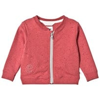eBBe Kids Elise Sweat Jacket Spotted Rich Pink Spotted rich pink
