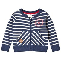 eBBe Kids Even Sweat Jkt Denim Blue Stripe Denim blue stripe