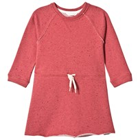 eBBe Kids Fiuma Sweat Dress Spotted Rich Pink Spotted rich pink