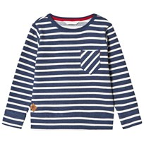 eBBe Kids Ulmer Sweater Denim Blue Stripe Denim blue stripe