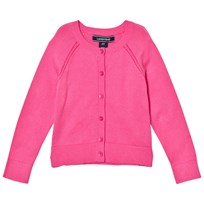 Lands End Pink Sophie Cardigan Apple Blossom M5I