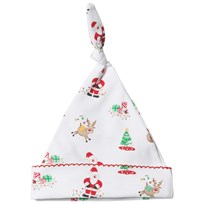 Kissy Kissy White Christmas Print Hat WH