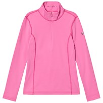 Poivre Blanc Pink 1/4 Zip Base Layer Top 0034