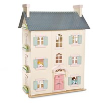 Le Toy Van Cherry Tree Hall Dolls House Pink