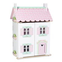 Le Toy Van Daisylane Sweetheart Cottage Playhouse White