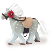 Le Toy Van Budkins® Grey Horse Black