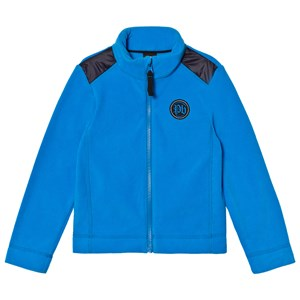 Image of Poivre Blanc Blue Micro Fleece Mid Layer Top 18 months (2780659597)