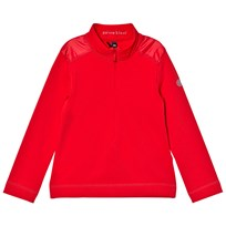 Poivre Blanc Red 1/4 Zip Base Layer 0038